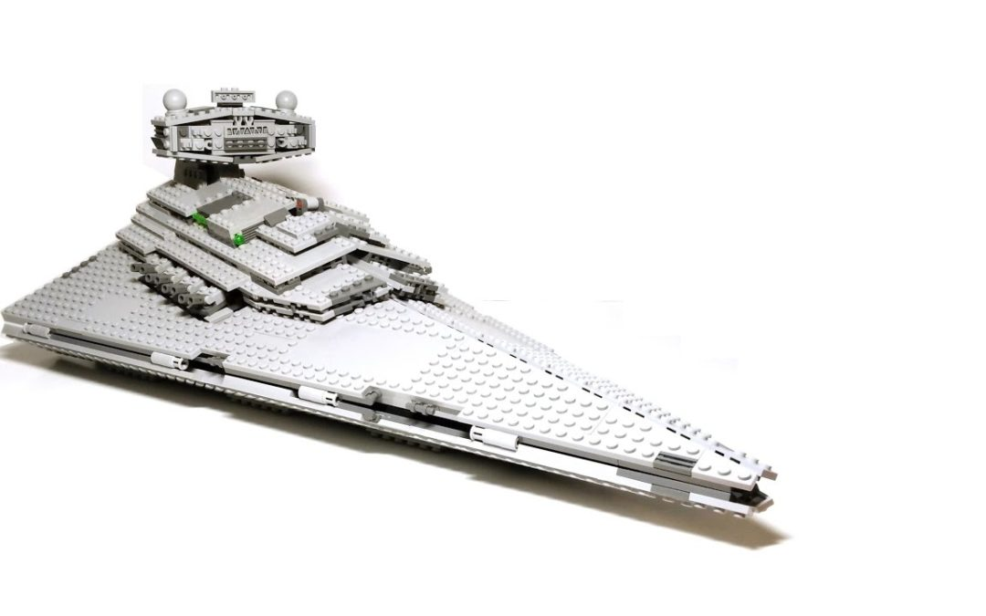 Custom built LEGO Star Destroyer