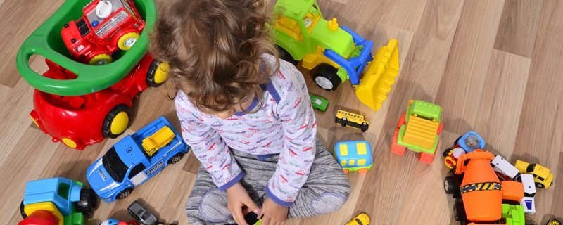How to declutter and get kids on board with purging old toys