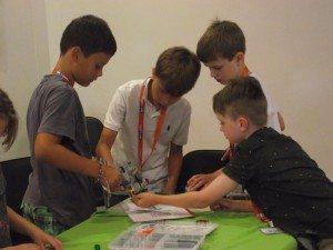 Kids Learning with Bricks 4 Kidz