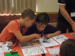 Kids Learning with Lego at Bricks 4 Kidz