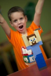 School holiday fun with Minecraft
