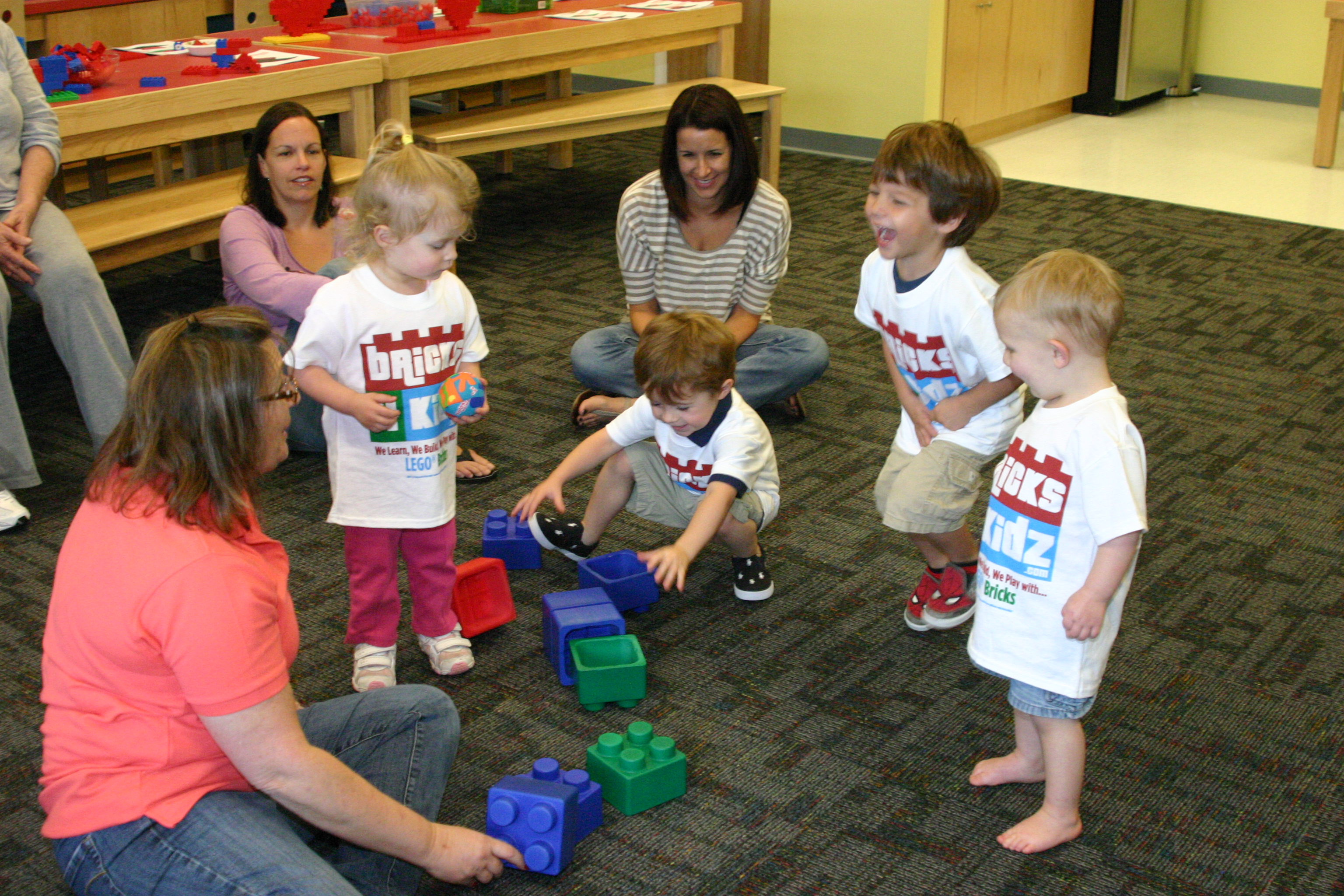 Preschool fun at Bricks 4 Kidz