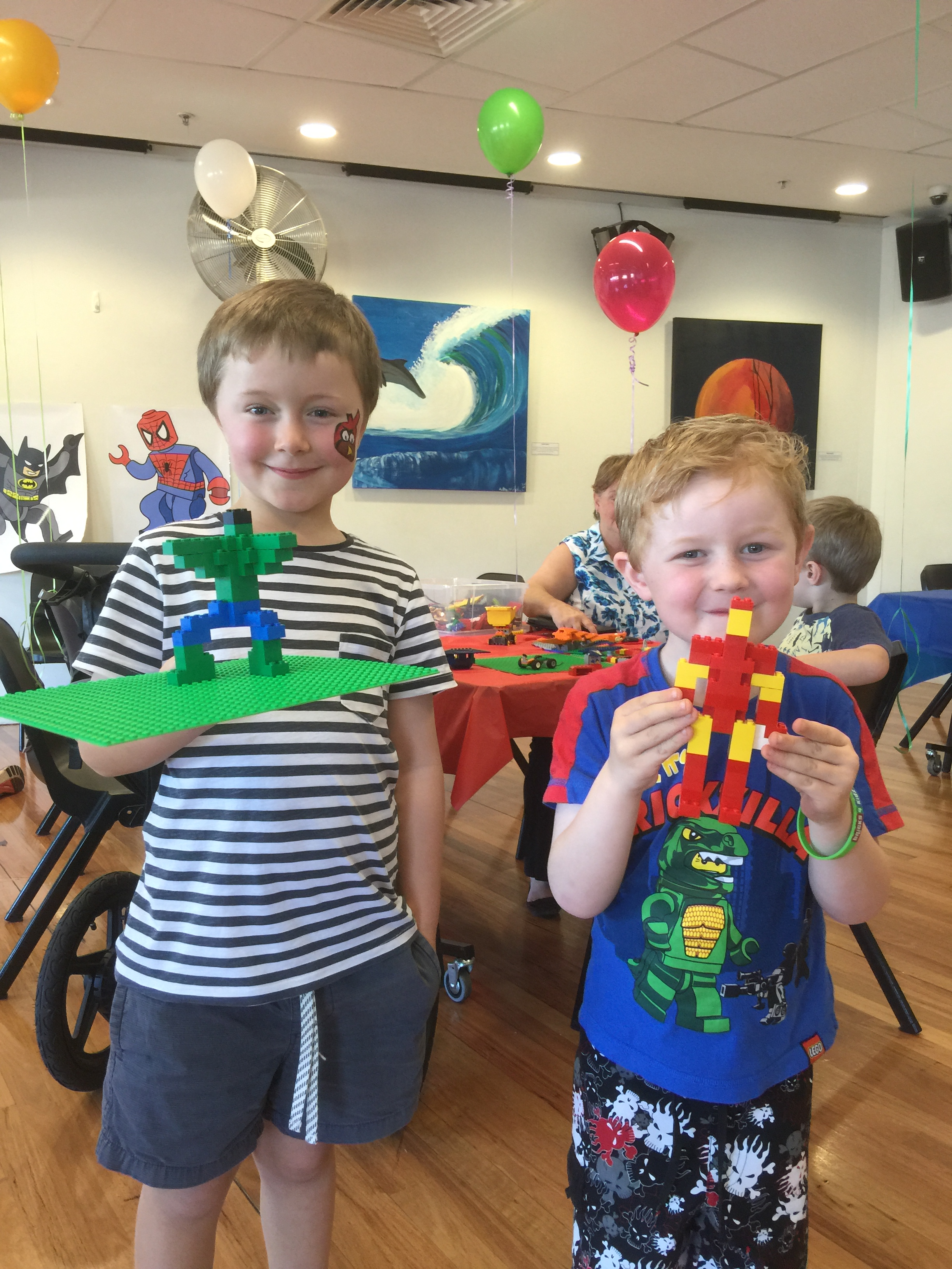 Fun with Lego at the Bricks 4 Kidz launch party