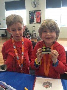School Holiday fun with Lego