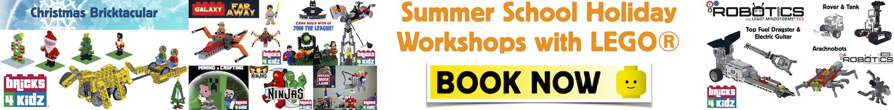 Summer School Holiday Workshops