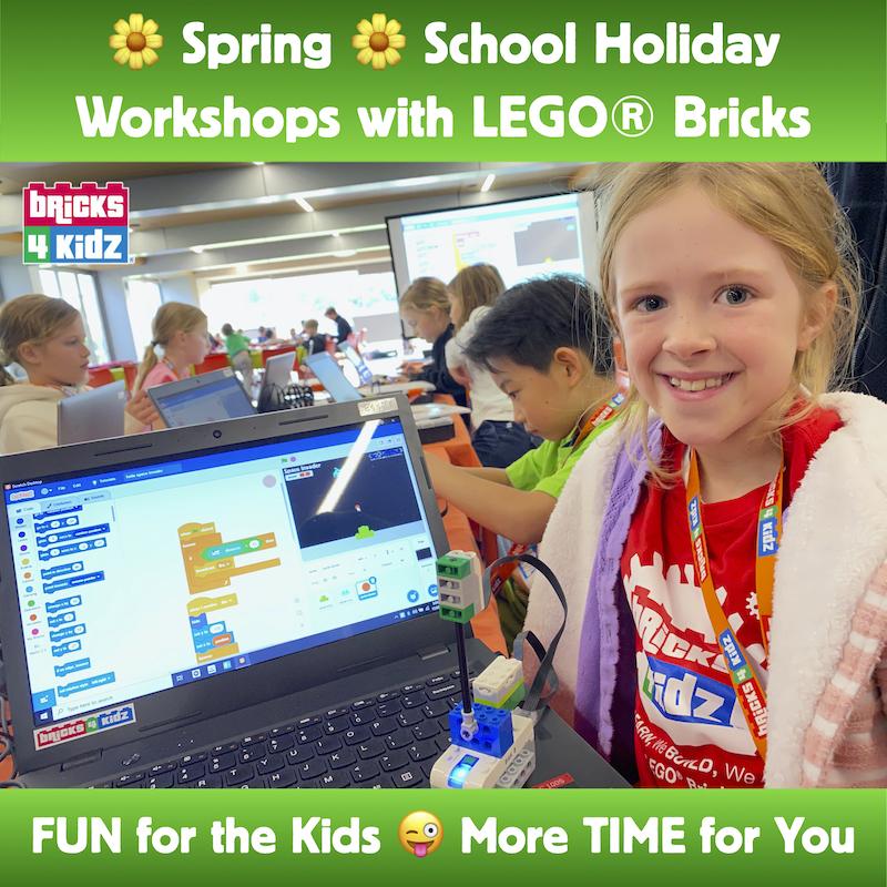 Spring School Holidays Advert