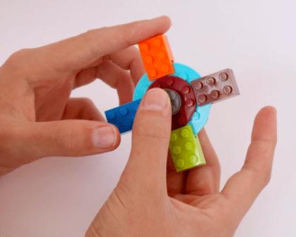 Fidget Spinner Made from LEGO!