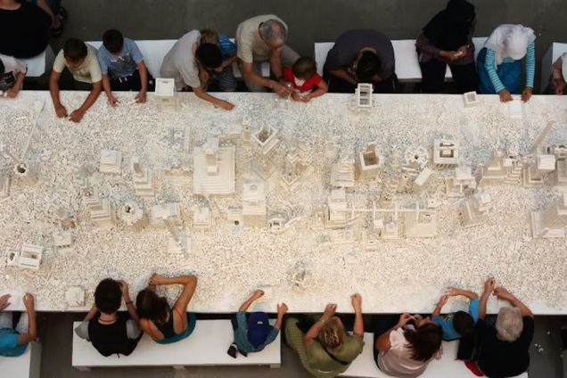 The LEGO® City Built By Strangers