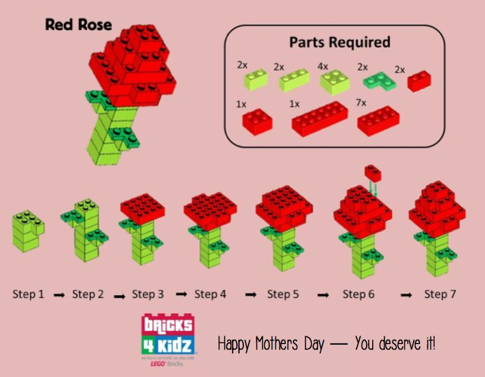 Happy Mothers Day tomorrow, from all of us at BRICKS 4 KIDZ!  We hope you have a wonderful day.