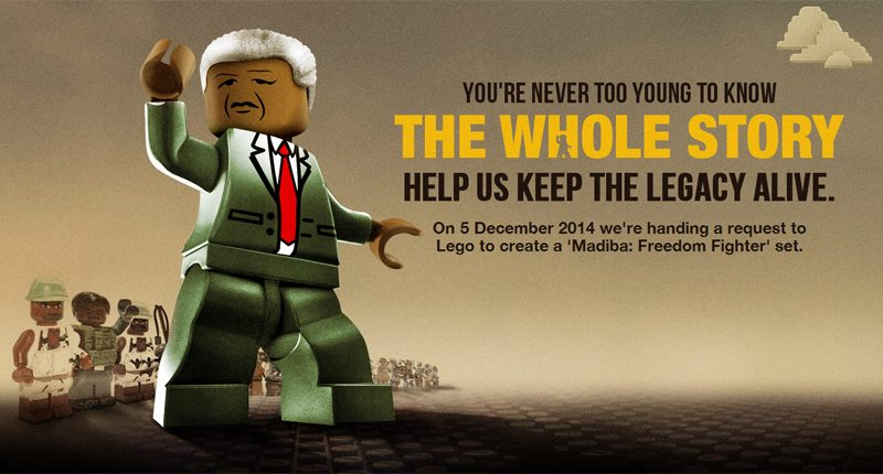 You're Never Too Young To Know: Harnessing LEGO® to teach young people about Nelson Mandela