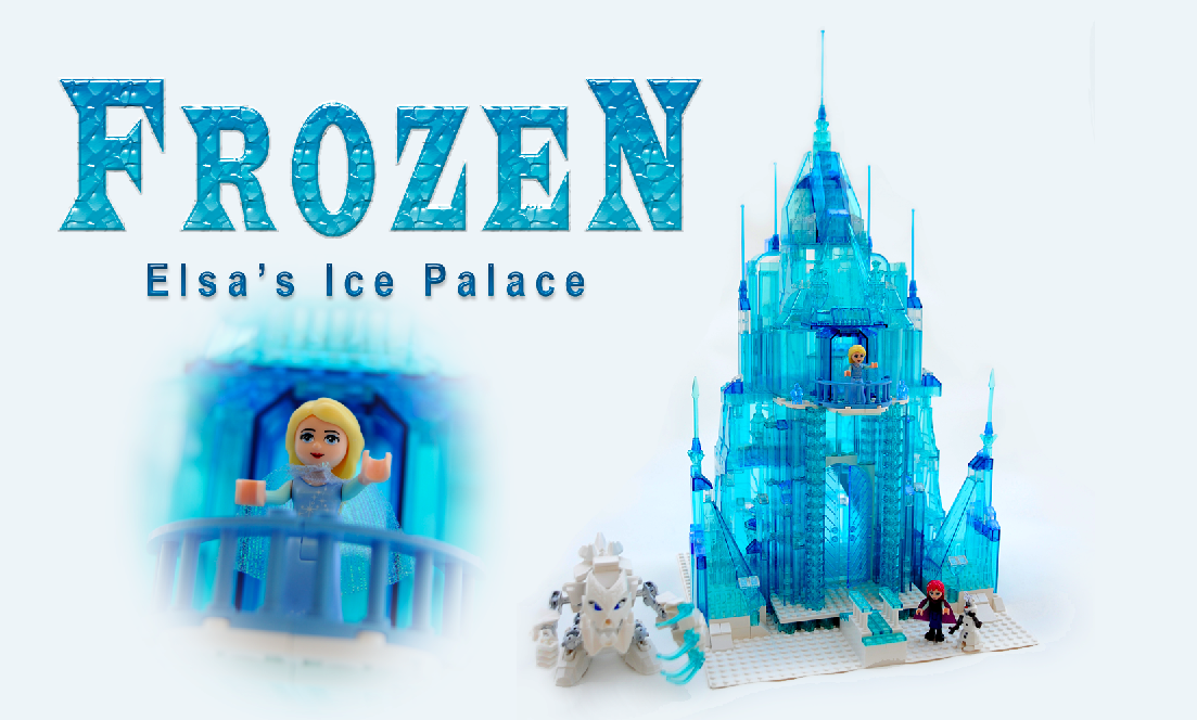 Who wouldn't want this?  Elsa's Frozen Ice Palace, in LEGO®!