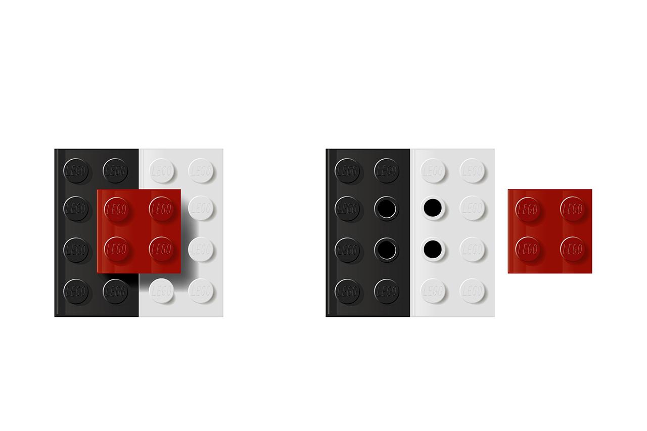 A LEGO® Salt-n-Pepper shaker? Clever design!