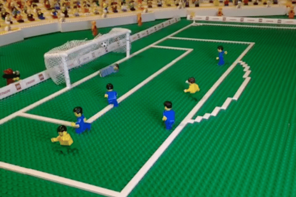 How good is this? Tim Cahill's Stunning Volley Against the Netherlands, Re-Enacted in LEGO!