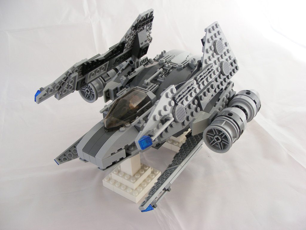 Chuck the instructions! Your kids won't replicate the LEGO® spaceship, but may build a better one instead