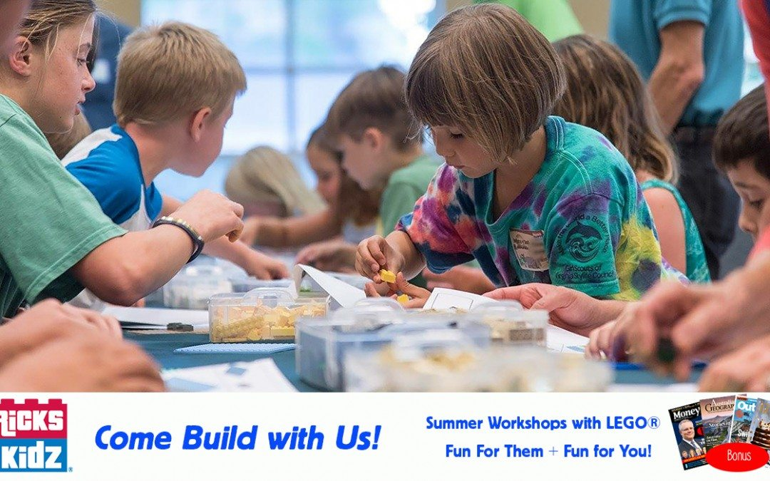 BOOYAH! We've LAUNCHED our super-popular Summer School Holiday Programs with LEGO®!