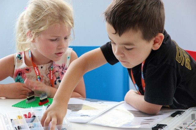 April School Holidays Workshops with LEGO® Bricks — Week Two! ?