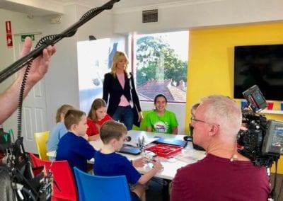 5 BRICKS 4 KIDZ Sydney - TODAY Show on Channel 9 - LEGO Kids Robotics Birthday Parties School Holiday Activities