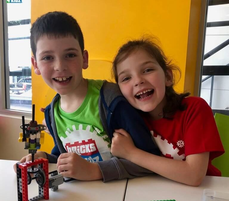 Come BUILD with us at our April School Holiday Programs with LEGO, Coding and Robotics! 🍁 ❤️ 🚀
