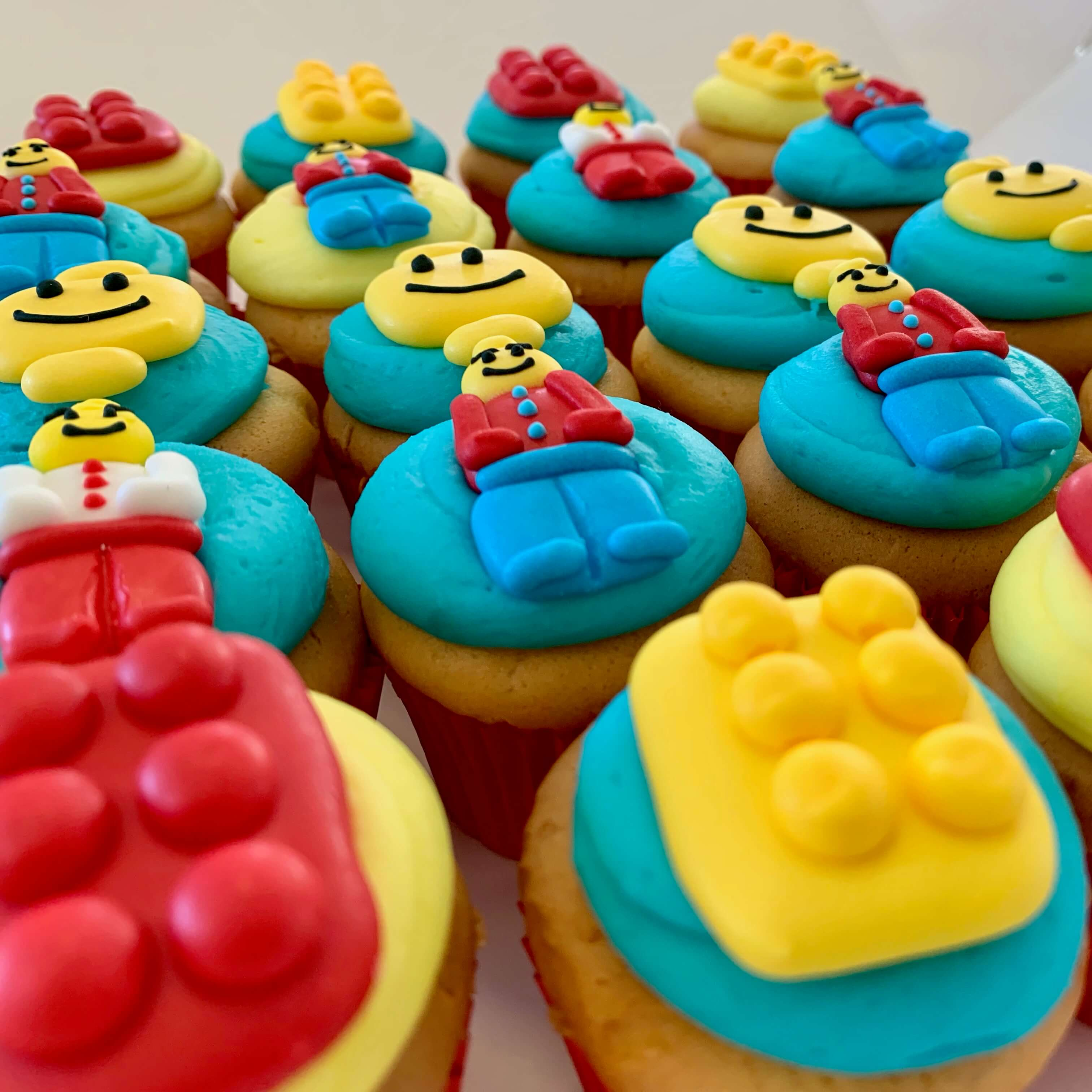 BRICKS 4 KIDZ | Kids Brthday Party Venue Food | LEGO Cupcakes BRICKS 4 KIDZ | Kids Brthday Party Venue Food | LEGO Cupcakes 1
