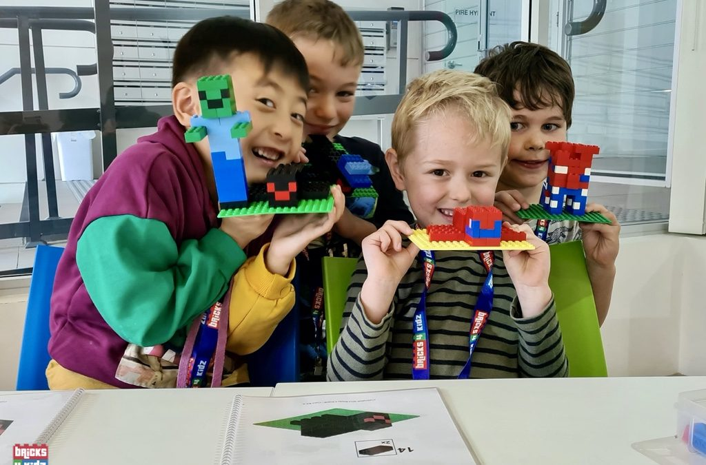 Thank you to the BRILLIANT builders who joined us for the first week of our Spring School Holiday Workshops!