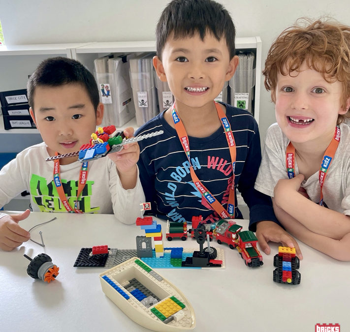 WOOHOO! Our April School Holiday Programs are nearly here and are PERFECT for your aspiring LEGO® Master!