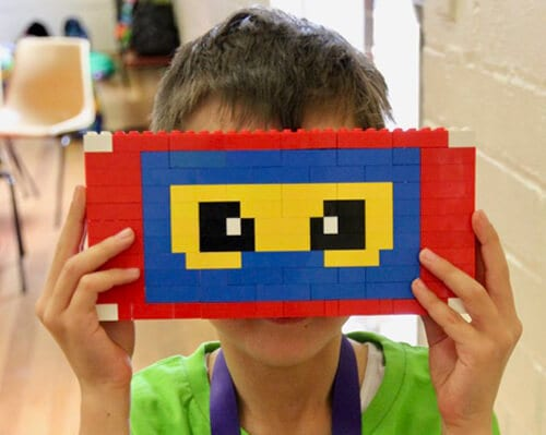 Take a Break with our Online LEGO School Holiday Workshops! 😊🚀🌈