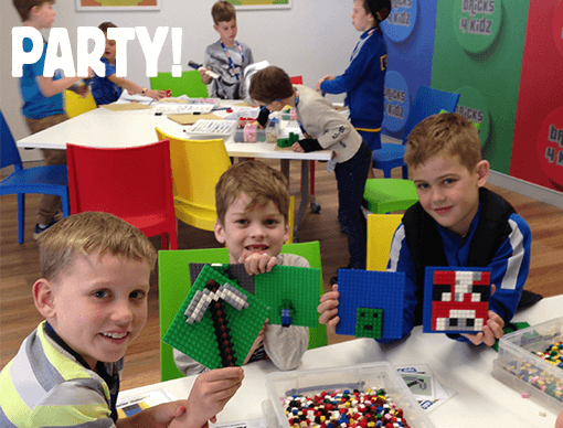 AWESOME Minecraft-inspired Party