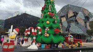 MELBOURNE LEGO CHRISTMAS TREE
