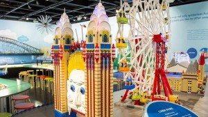 Sydney Harbour Icons with LEGO Bricks