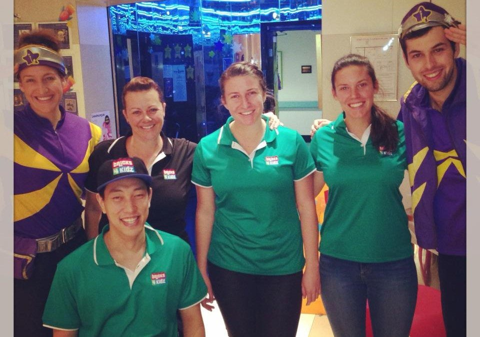 BRICKS 4 KIDZ South West Sydney recently volunteered at the Starlight Room Westmead