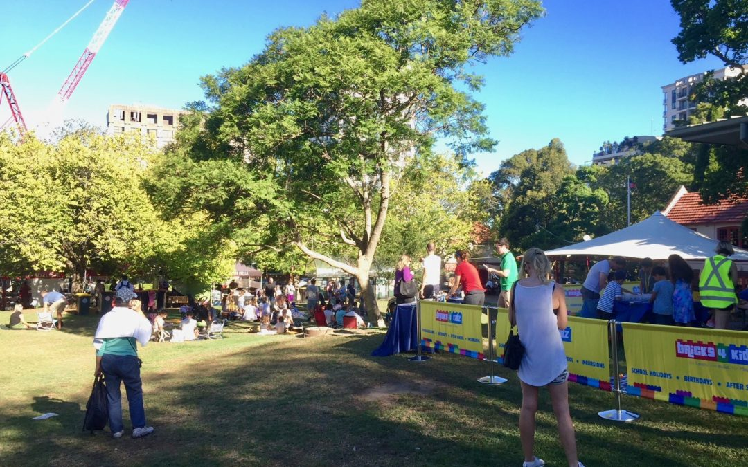 BRICKS 4 KIDZ at North Sydney's Twilight Food Fair!